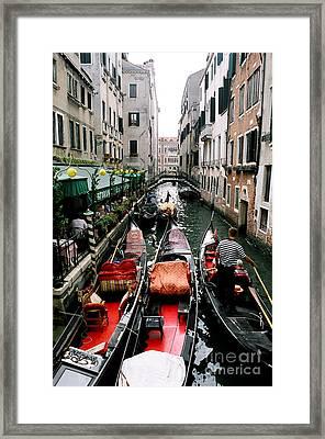 Venice Canal Framed Print by Sandy MacNeil