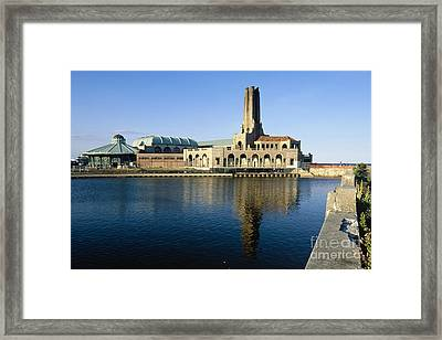 View Of The Historic Asbury Park Casino Framed Print