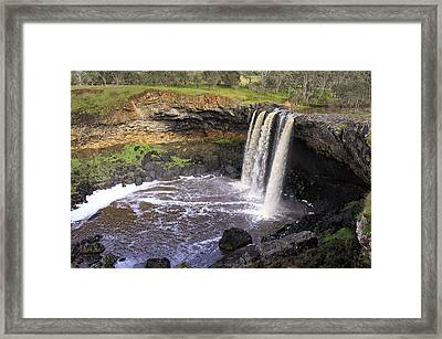 Wannon Falls Framed Print by Kim Andelkovic
