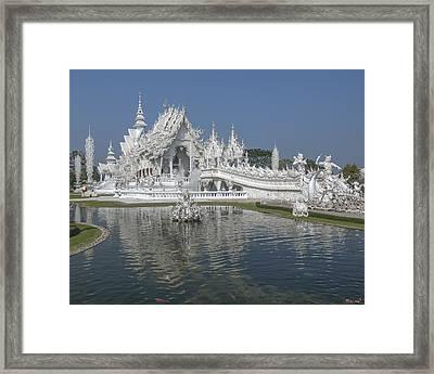 Wat Rong Khun Ubosot Dthcr0001 Framed Print