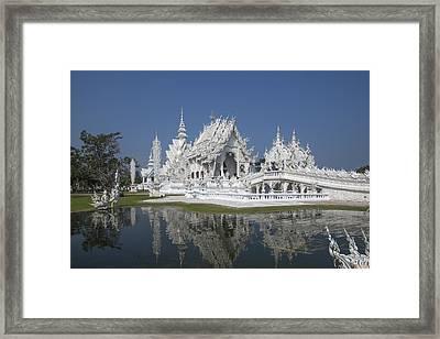 Wat Rong Khun Ubosot Dthcr0002 Framed Print