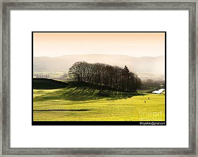 Wensleydale Dusk Framed Print by Mike Hoyle
