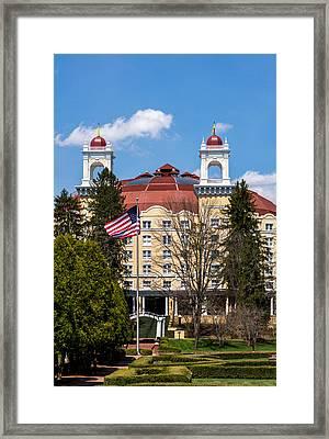 West Baden Springs Hotel Framed Print by Brenden Ponder