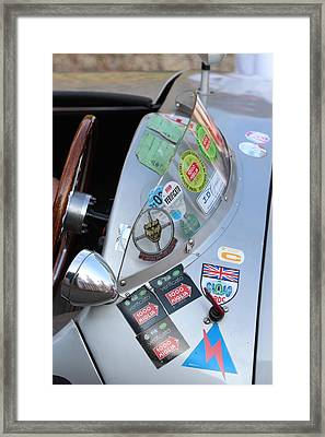Windscreen Sticker Framed Print