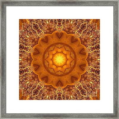 Winter Solstice Framed Print by SiriSat