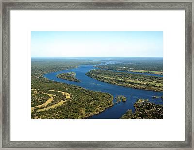 Zambezi River Framed Print by Aidan Moran