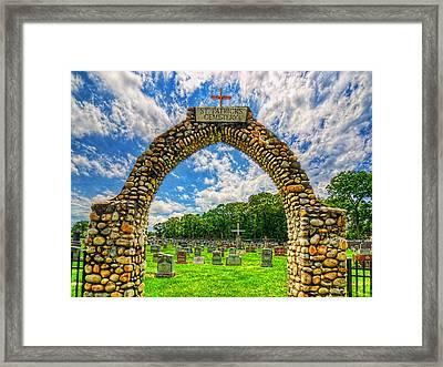 0002-5-123 Framed Print