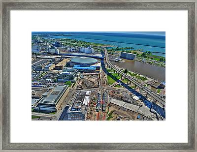 001 Visual Highs Of The Queen City Framed Print by Michael Frank Jr