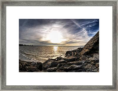 0011 Rest And Relax Series Framed Print