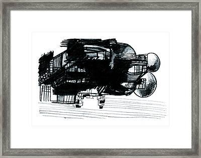 0012 Framed Print