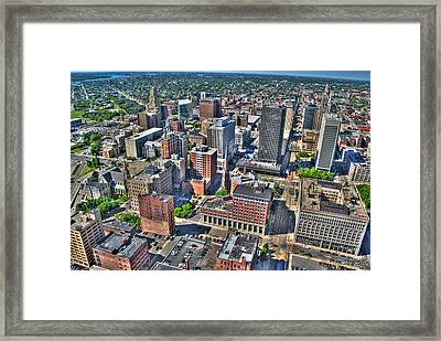 0017 Visual Highs Of The Queen City Framed Print by Michael Frank Jr