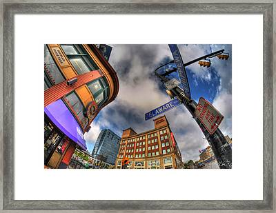 002 Delaware And Chipp Framed Print by Michael Frank Jr
