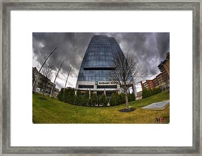 0028 Embassy Suites Framed Print by Michael Frank Jr