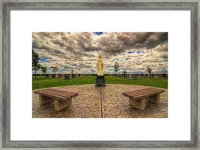 0039-44-124 Framed Print