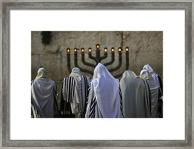 007 Jerusalem Framed Print by Alex Kolomoisky