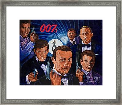 007 Framed Print by Michael Frank