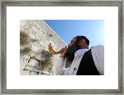 008 Jerusalem Framed Print by Alex Kolomoisky