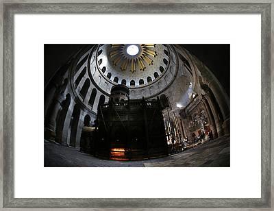 010 Jerusalem Framed Print by Alex Kolomoisky