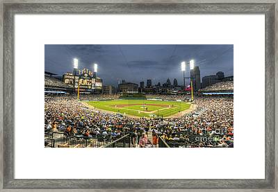 0101 Comerica Park - Detroit Michigan Framed Print