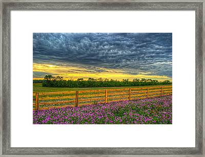 Framed Print featuring the photograph 0102-8-70 by Lewis Mann
