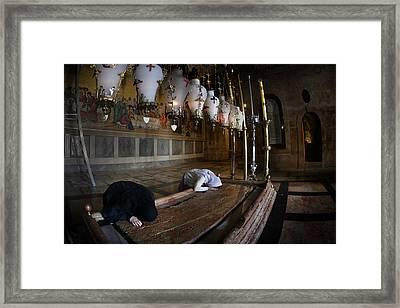 011 Jerusalem Framed Print by Alex Kolomoisky