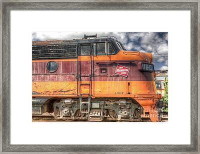 0119 The Milwaukee Road 2 Framed Print