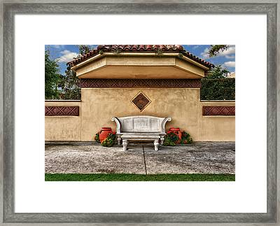 A Quiet Place Framed Print
