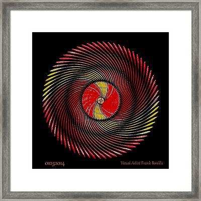 #01252014 Framed Print by Visual Artist  Frank Bonilla