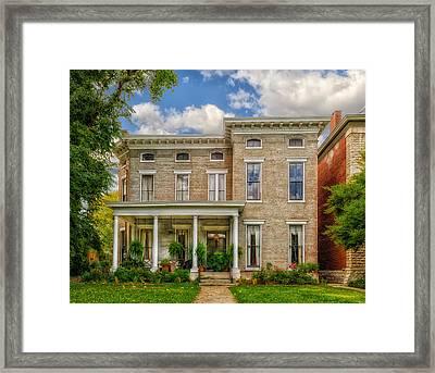Saint James Court District Framed Print