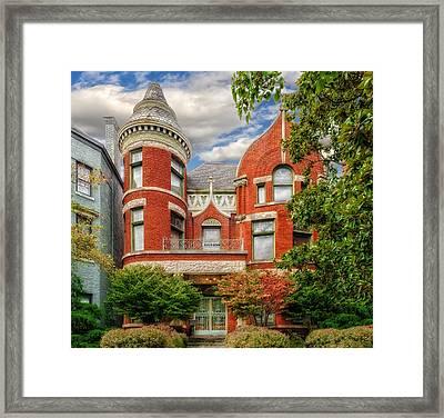 Saint James Court District Framed Print by Frank J Benz