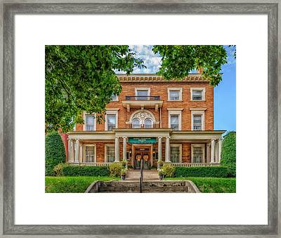 Saint James Court District Framed Print