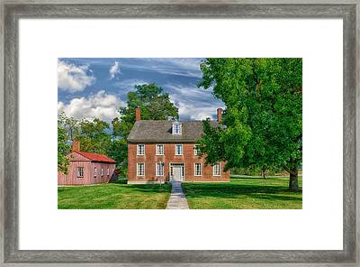 Historic Building - Kentucky Framed Print