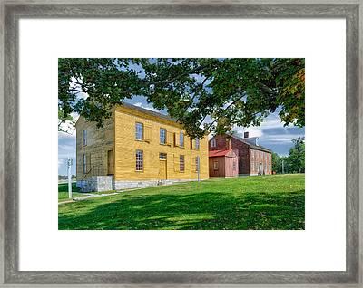 Historic Buildings - Kentucky Framed Print by Frank J Benz