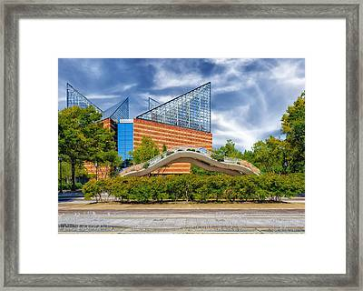 Tennessee Aquarium - Chattanooga Framed Print by Frank J Benz