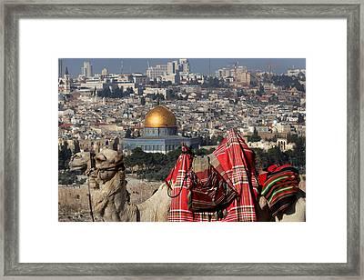 014 Jerusalem Framed Print by Alex Kolomoisky