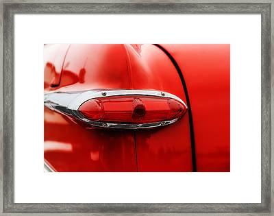 1951 Ford Tudor Tail Light Framed Print