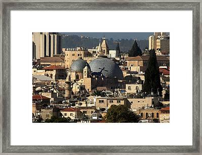 015 Jerusalem Framed Print by Alex Kolomoisky