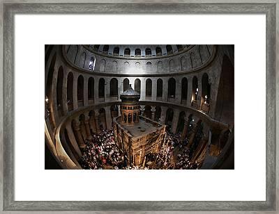 016 Jerusalem Framed Print by Alex Kolomoisky