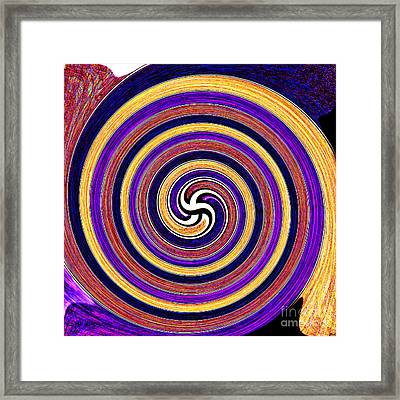 0175 Abstract Thought Framed Print by Chowdary V Arikatla