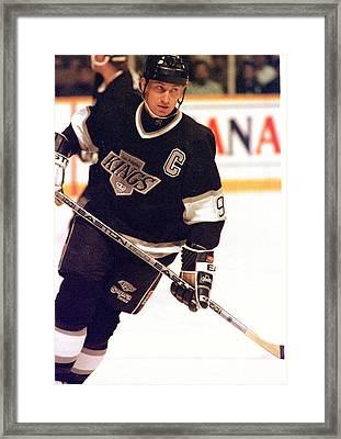 01.wayne Gretzky.la King.jpg Framed Print