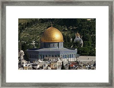 021 Jerusalem Framed Print by Alex Kolomoisky