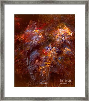 022-13 Framed Print
