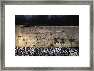 022 Jerusalem Framed Print by Alex Kolomoisky