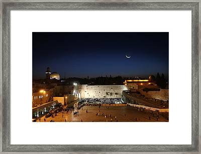 023 Jerusalem Framed Print by Alex Kolomoisky