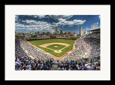 Wrigley Field Framed Prints