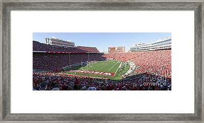 0251 Camp Randall Stadium - Madison Wisconsin Framed Print
