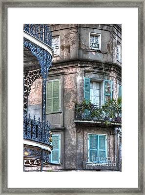 0254 French Quarter 10 - New Orleans Framed Print by Steve Sturgill