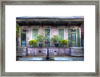 0267 French Quarter 5 - New Orleans Framed Print