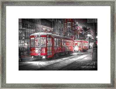 0271 New Orleans Street Car Framed Print