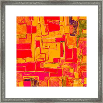 0275 Abstract Thought Framed Print by Chowdary V Arikatla